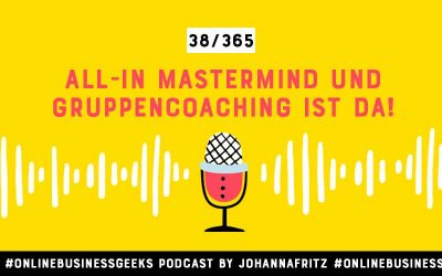 ALL IN Gruppencoaching & Mastermind ist da!