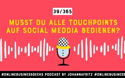 Die Touchpoints Social Media und Website