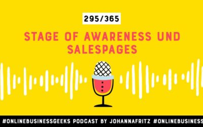 Stage of Awareness und Salespages